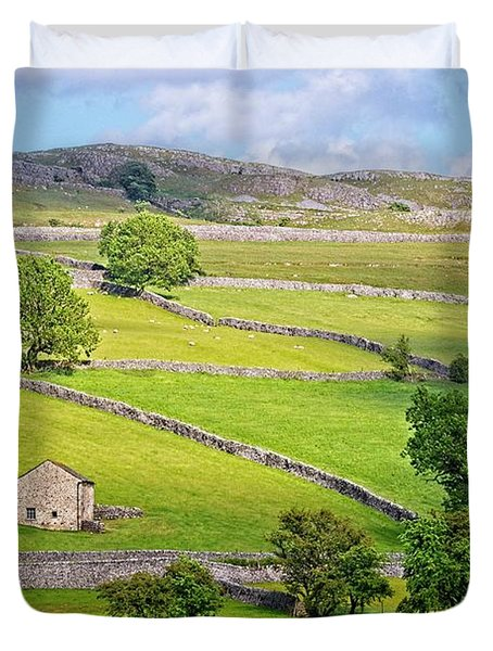 Yorkshire Dales Duvet Cover