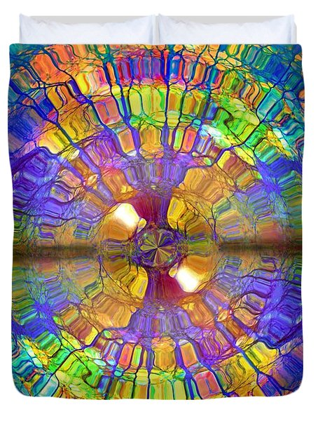 You Are Already A Kaleidoscope On The Inside Duvet Cover