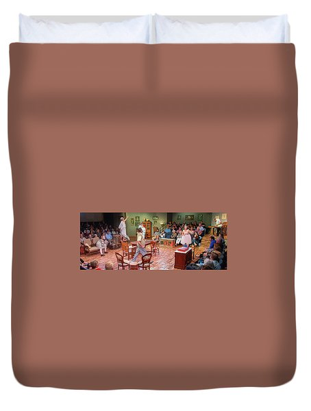You Can't Take It With You  Duvet Cover