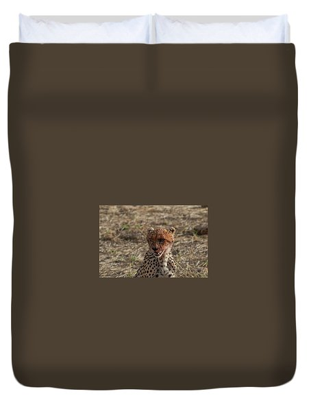 Young Cheetah Duvet Cover