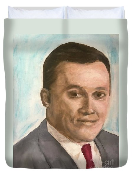 Young Judge Duvet Cover