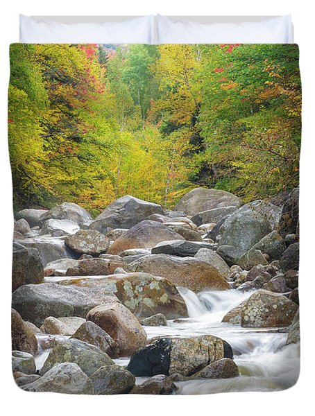 Duvet Cover featuring the photograph Zealand River - White Mountains, New Hampshire by Erin Paul Donovan