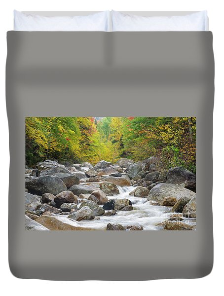 Zealand River - White Mountains, New Hampshire Duvet Cover