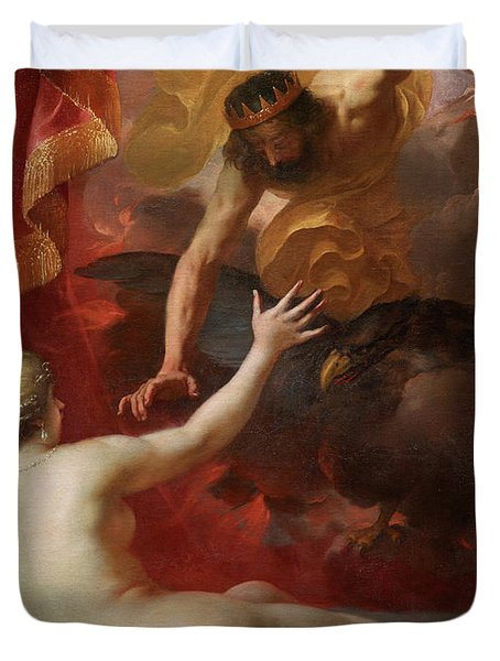 Zeus And Semele Duvet Cover