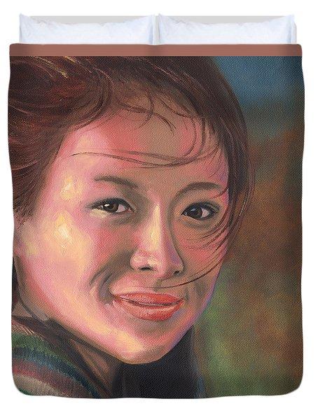 Zhang Ziyi Duvet Cover