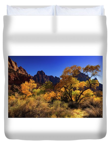 Zions Beauty Duvet Cover