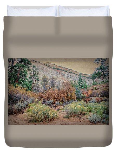 Zions Garden Duvet Cover