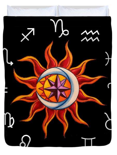Zodiac Transparent Duvet Cover