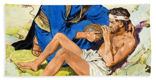The Good Samaritan  Hand Towel