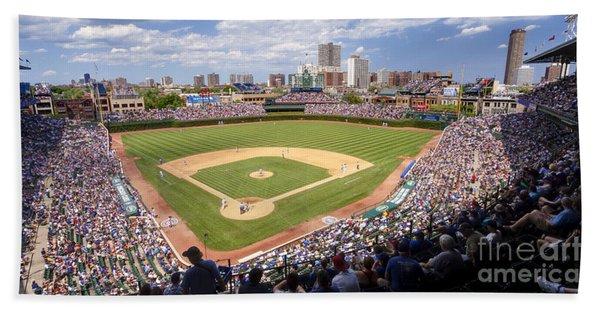 0100 Wrigley Field - Chicago Illinois Hand Towel