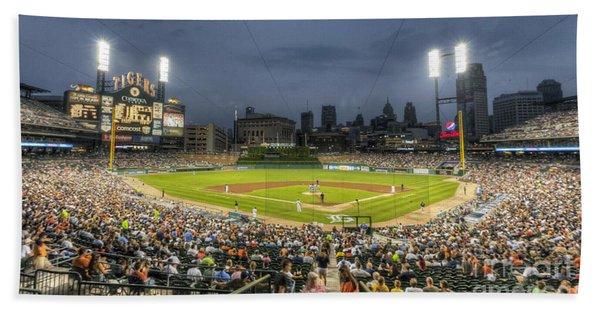 0101 Comerica Park - Detroit Michigan Hand Towel