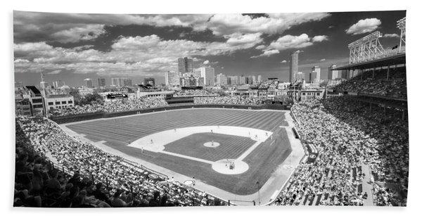 0416 Wrigley Field Chicago Hand Towel