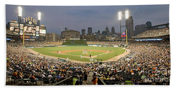 0555 Comerica Park Detroit Hand Towel