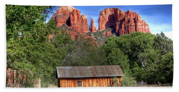 0682 Red Rock Crossing - Sedona Arizona Bath Towel