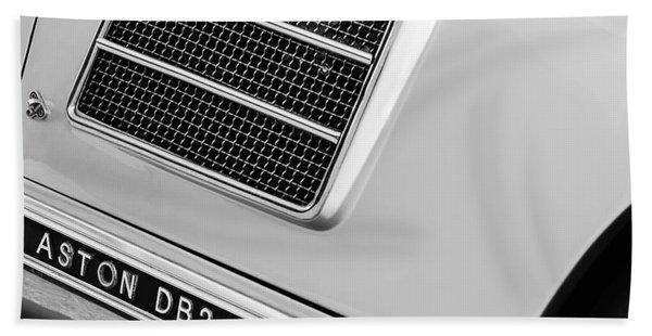 1951 Aston Martin Db2 Coupe Side Emblem Hand Towel