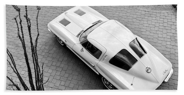 1963 Chevrolet Corvette Split Window -440bw Hand Towel