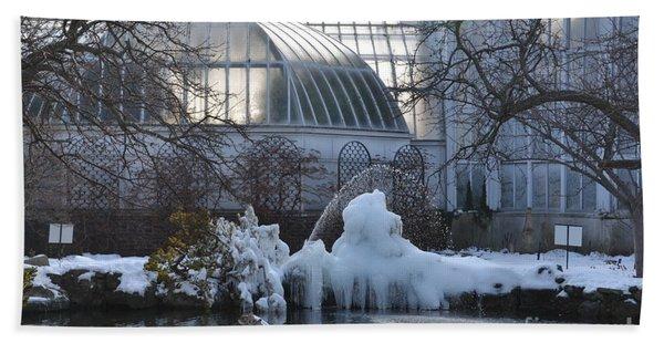 Belle Isle Conservatory Pond 2 Bath Towel