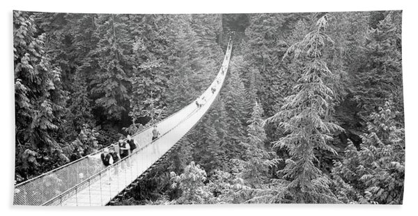 Capilano Bridge, Suspended Walk Hand Towel