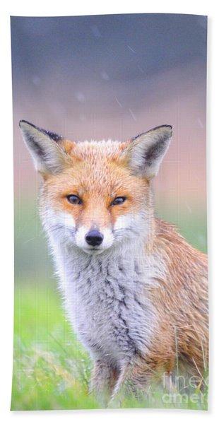 Fox Bath Towel