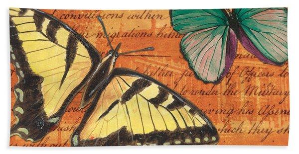 Le Papillon 3 Hand Towel