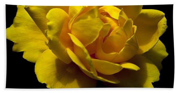 Lemon Rose Bath Towel