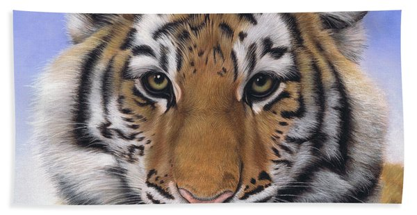 Little Big Cat Hand Towel