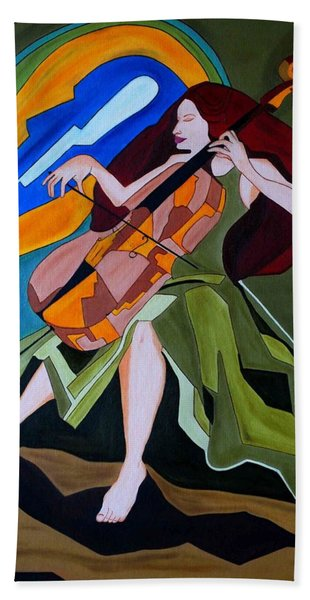 Lost In Music Bath Towel