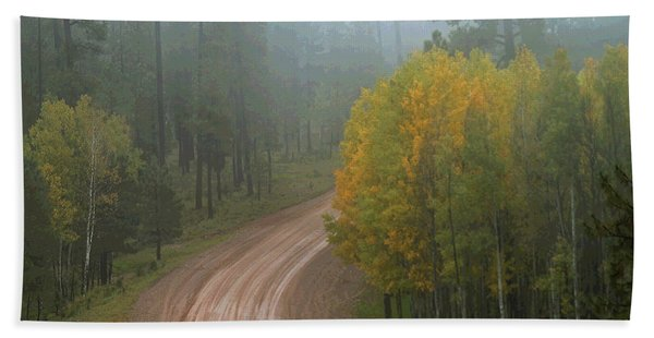 Rim Road Hand Towel