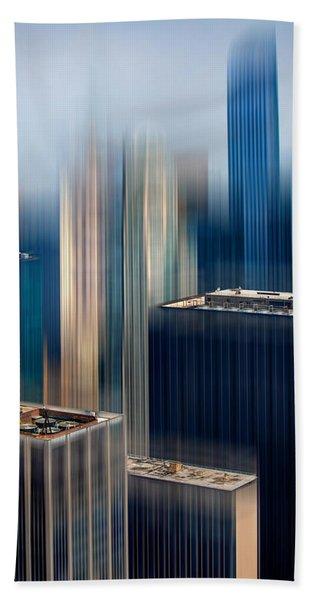 Rising Metropolis Bath Towel