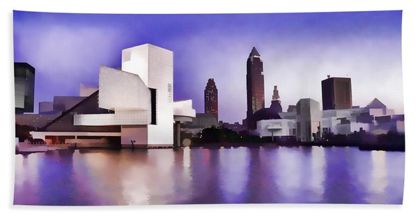 Rock And Roll Hall Of Fame - Cleveland Ohio - 3 Bath Towel