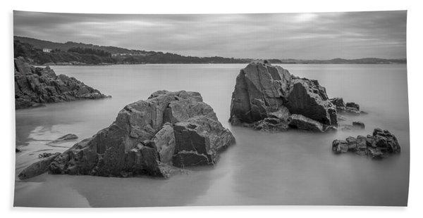 Seselle Beach Galicia Spain Bath Towel