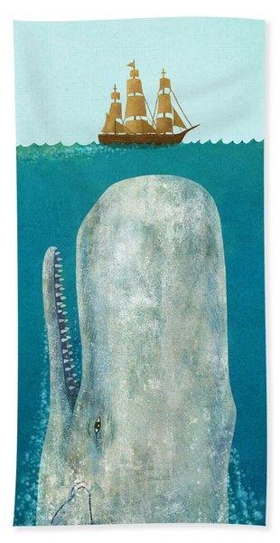 The Whale  Bath Towel