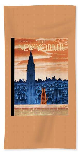 New Yorker January 12th, 2009 Bath Towel