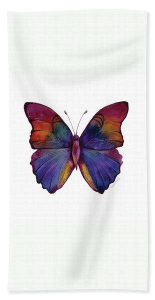 13 Narcissus Butterfly Bath Towel