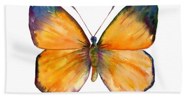 19 Delias Anuna Butterfly Bath Towel