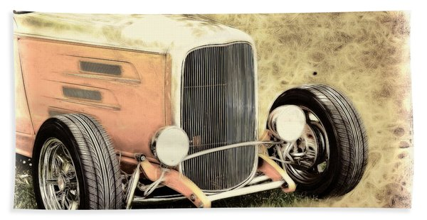 1932 Ford Roadster Hand Towel
