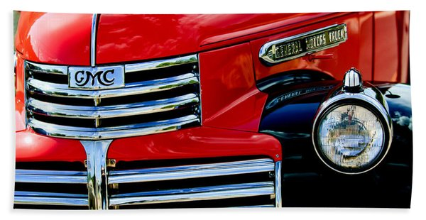 Hand Towel featuring the photograph 1942 Gmc  Pickup Truck by Jill Reger