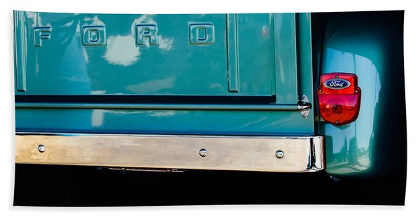 1956 Ford F-100 Truck Taillight 2 Hand Towel