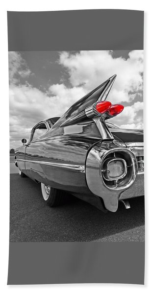 1959 Cadillac Tail Fins Hand Towel