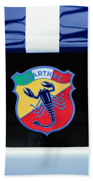 1961 Fiat-abarth 1000 Bialbero Gt Competition Coupe Emblem Hand Towel