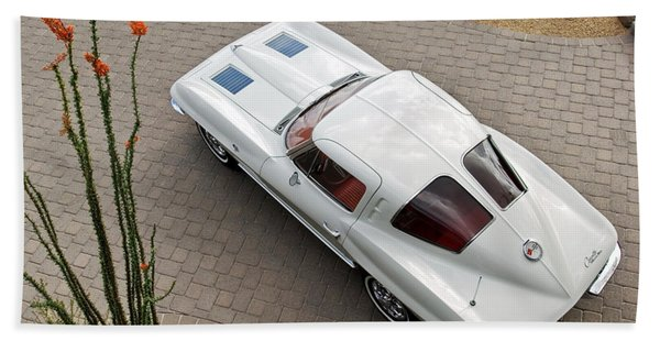 1963 Chevrolet Corvette Split Window -440c Hand Towel
