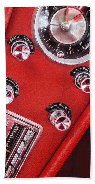 1963 Chevrolet Corvette Split Window Dash -334c Hand Towel