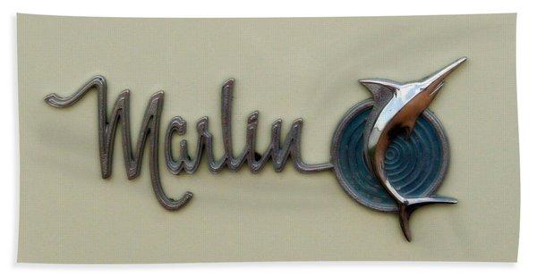 1965 Rambler Marlin Bath Towel