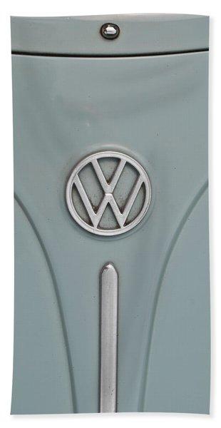 1965 Volkswagen Beetle Hood Emblem Hand Towel