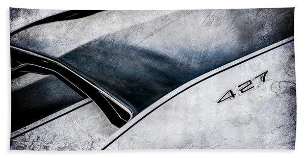 1967 Chevrolet Corvette Coupe Hood Emblem -0190c Hand Towel