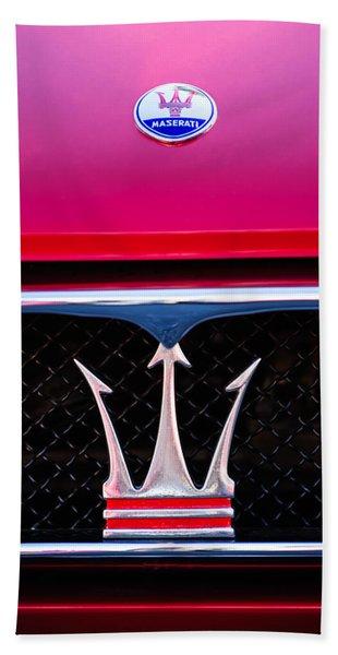 1967 Maserati Ghibli  Hand Towel