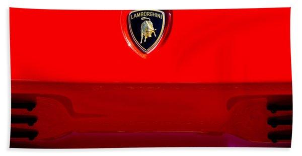 1994 Lamborghini Diablo Coupe Se30 Emblem Hand Towel