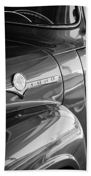 1956 Ford F-100 Truck Emblem Hand Towel