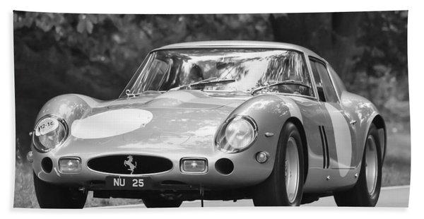 Hand Towel featuring the photograph 1963 Ferrari 250 Gto Scaglietti Berlinetta by Jill Reger