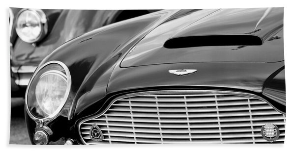 Hand Towel featuring the photograph 1965 Aston Martin Db6 Short Chassis Volante by Jill Reger